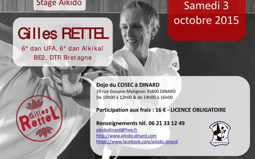 Stage aïkido Dinard 3 octobre 2015
