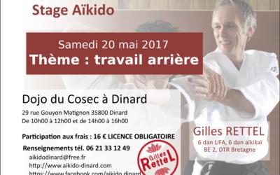 Stage aïkido Dinard 20 mai 2017