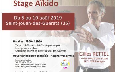 Stage aïkido été 2019