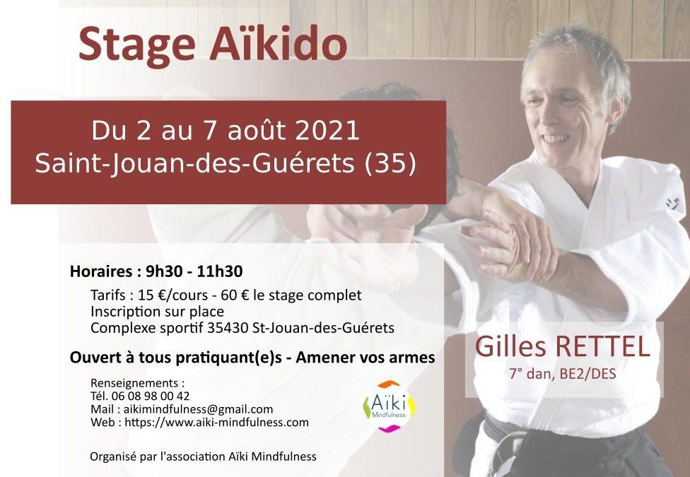 Stage aïkido été 2021